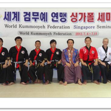Seminar in Singapore (July 4, 2012) 싱가폴 검무예 세미나