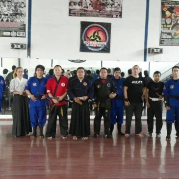 Kummooyeh training with Japanese martial arts instructors in Mexico(Sep 20~24, 2014) 멕시코 검무예 수련