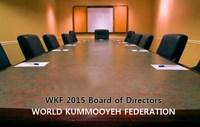 2015 WKF Directors Meeting 2015 세계검무예연맹 이사회