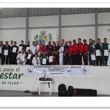 The 1st Kummooyeh seminar in Colombia (Mar 29, 2014) 콜롬비아 검무예 세미나