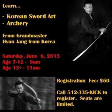 Kummooyeh seminar in Austin, USA (June 6~8, 2015) 미국 오스틴 검무예 세미나