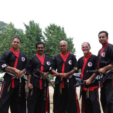 Kummooyeh Instructor Course in Korea (01~15 Aug, 2015) 검무예 해외사범 연수