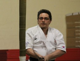 Kendo Instructor Leon Withrington