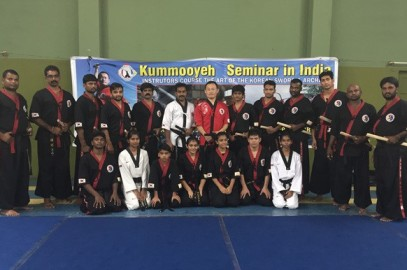 The first Kummooyeh seminar & instructor course in India (제 1회 인도 검무예 세미나 및 사범 연수) – 9~14 October, 2015