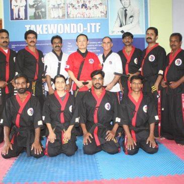 Kummooyeh seminar in Kerala, India (인도 검무예 세미나 및 사범 교육)