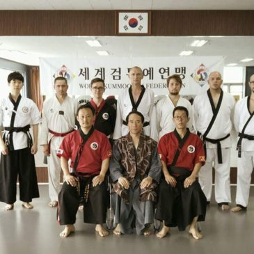 Taewondo & Hapkido instructors visit the headquarters in Korea for Kummooyeh seminar(독일 태권도 합기도 사범 협회 연수원 방문)
