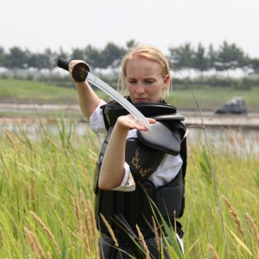 The first female Kummooyeh instructor in the Netherlands