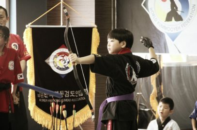 Friendly sparring & archery competition in Korea (3 Sep, 2016)