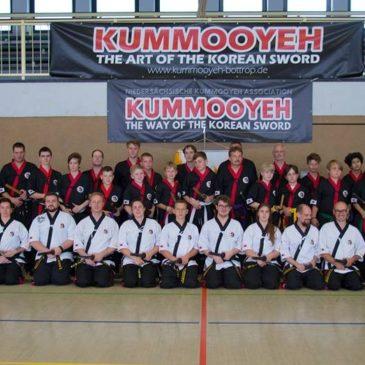Europe Kummooyeh friendly competition & seminar 유럽 검무예 세미나 및 친선 대회