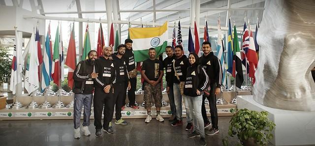 Indian Taekwondo instructors come to Korea for Kummooyeh training.