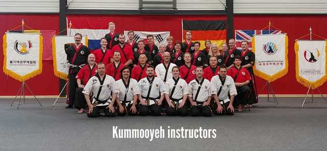 3rd European Kummooyeh seminar in the Netherlands (제 3회 유럽 검무예 지도자 세미나 )