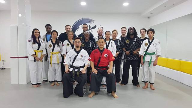 Kummoyeh instructor training in London, UK (영국 검무예 지도자 수련)