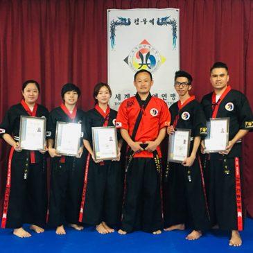 2019 Kummooyeh instructor training in Singapore (2019년 하반기 싱가포어 검무예 지도자 수련)