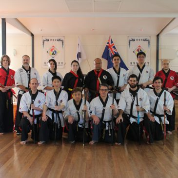 Kummooyeh instructor seminar in Australia (2019 호주 검무예 지도자 세미나)