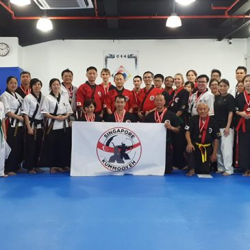 2019 Kummooyeh Hanmadang & seminar in Singapore (2019 싱가포르 검무예 한마당)