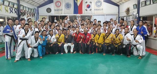 1st Kummooyeh seminar in Mindanao, the Philippines (제 1회 필리핀 민다나오 검무예 세미나)