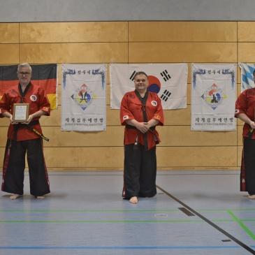 New Kummooyeh head instructors in Germany