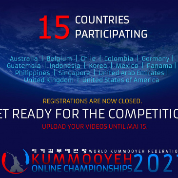 1st Kummooyeh Online Championships – participating countries